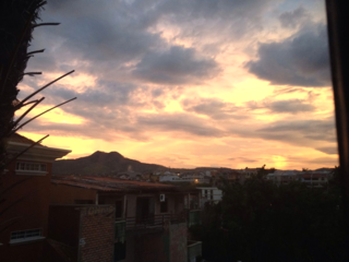 Tegucigalpa, Honduras at sunset