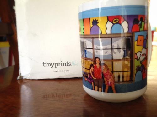 Tiny Prints photo printed mug