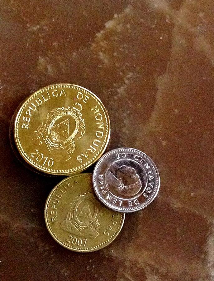 Centavos Lempiras Money In Honduras