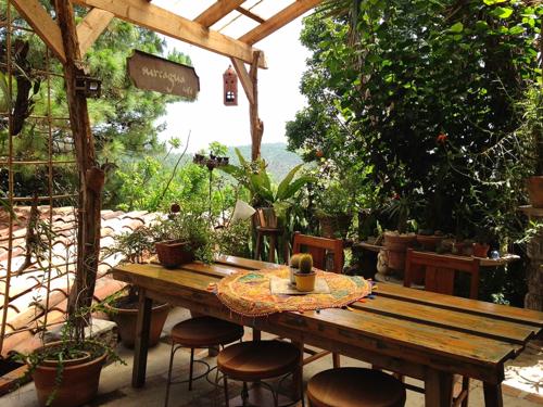 A tea house in Santa Lucia, Honduras