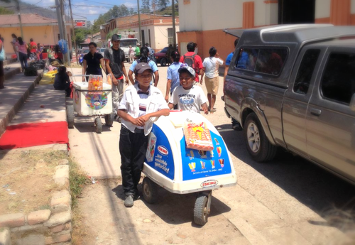 Ice Cream Sales in Marcala, Honduras