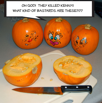 Slicing the Pie Pumpkins