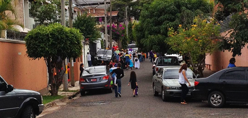 Halloween Trick or Treating in Tegucigalpa, Honduras